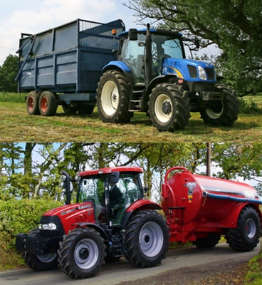 Radiators for Case IH and New Holland Tractors
