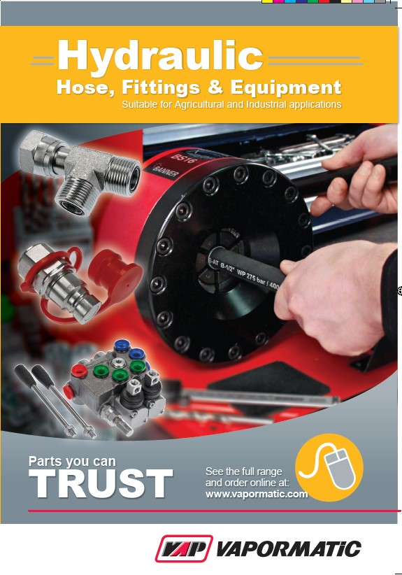 New Hydraulic Hose, Fittings & Equipment Catalogue Update
